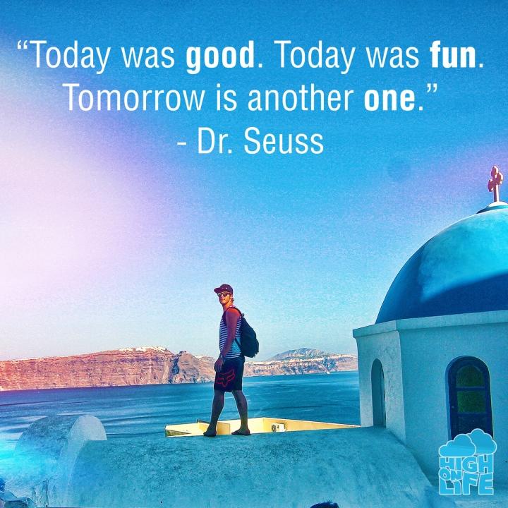 День прошел хорошо. День прошел весело. Завтра будет новый день, не хуже сегодняшнего